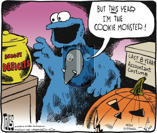 Tom Toles on Sunday October 22, 2017 Comic Strip