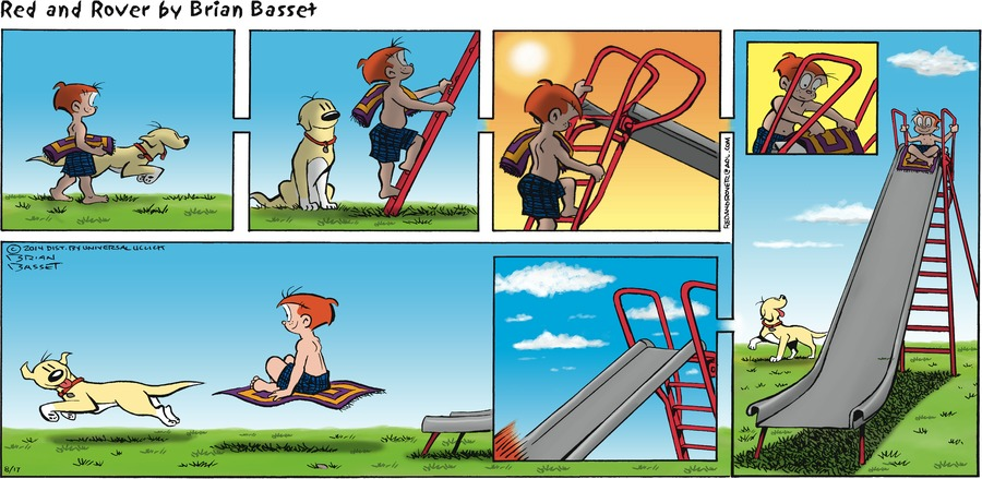 Red and Rover for Aug 17, 2014 Comic Strip