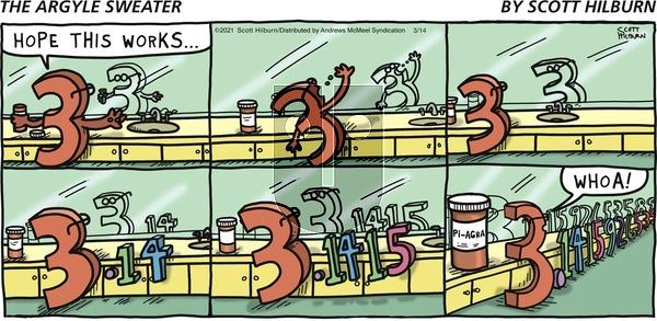 The Argyle Sweater - Sunday March 14, 2021 Comic Strip
