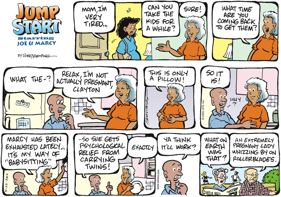 JumpStart for May 22, 2005 Comic Strip