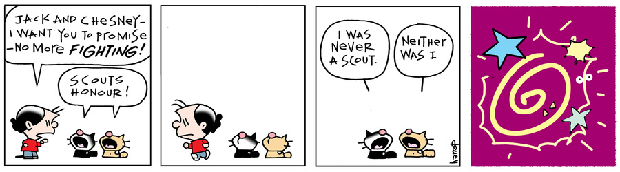 Ten Cats Comic Strip for February 25, 2015