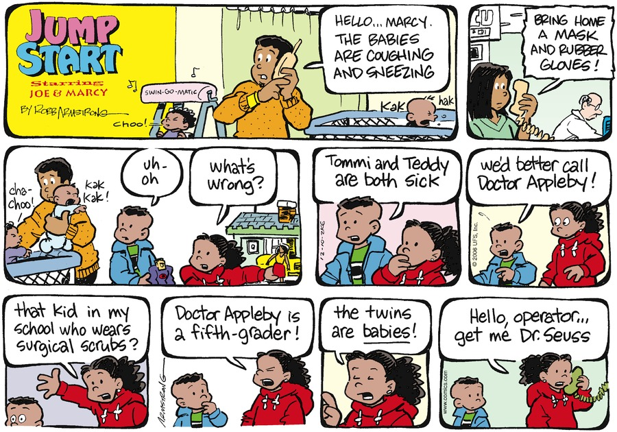 JumpStart Comic Strip for December 10, 2006