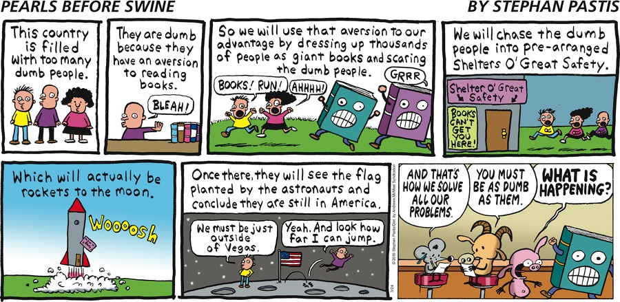 Pearls Before Swine Comic Strip for March 24, 2019