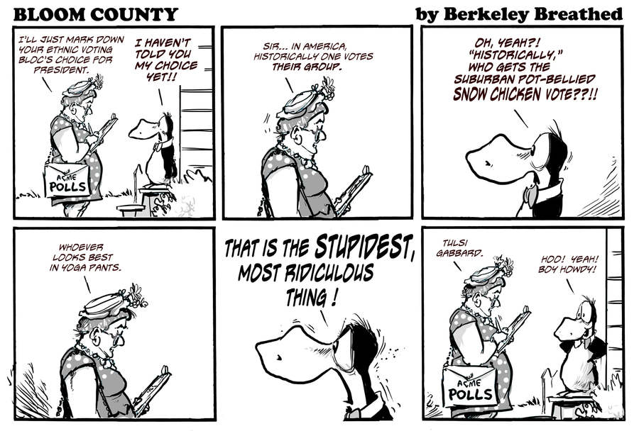 Bloom County 2019 by Berkeley Breathed on Thu, 14 Nov 2019
