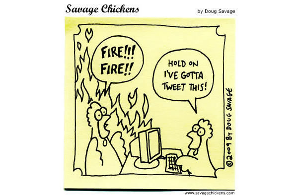 Chicken 1: Fire!! FIRE!! 