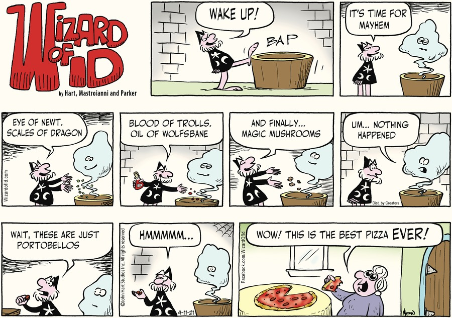 Wizard of Id Comic Strip for April 11, 2021