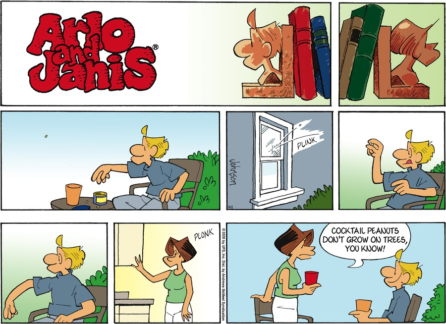 Arlo and Janis Comic Strip for August 02, 2020