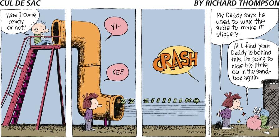 Cul de Sac for Jun 7, 2009 Comic Strip