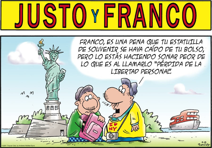 Justo y Franco by Thaves on Sun, 18 Apr 2021
