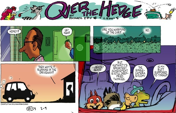 Over the Hedge on Sunday February 9, 2020 Comic Strip