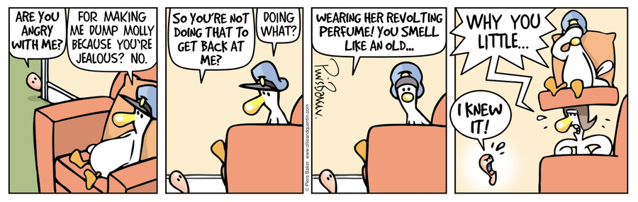 Ollie and Quentin Comic Strip for December 13, 2019