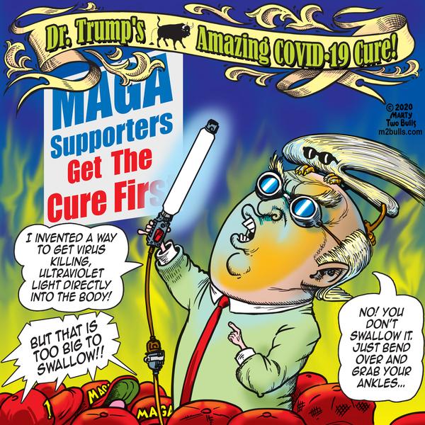 M2Bulls Comic Strip for April 30, 2020