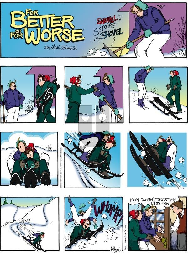 For Better or For Worse on Sunday January 13, 2019 Comic Strip