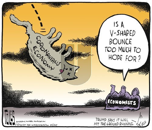Tom Toles on Sunday May 10, 2020 Comic Strip