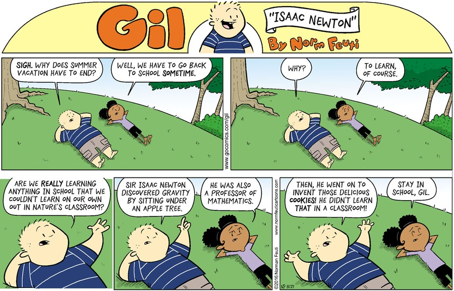 Gil Comic Strip for August 16, 2020