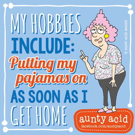 Aunty Acid by Ged Backland for March 02, 2019