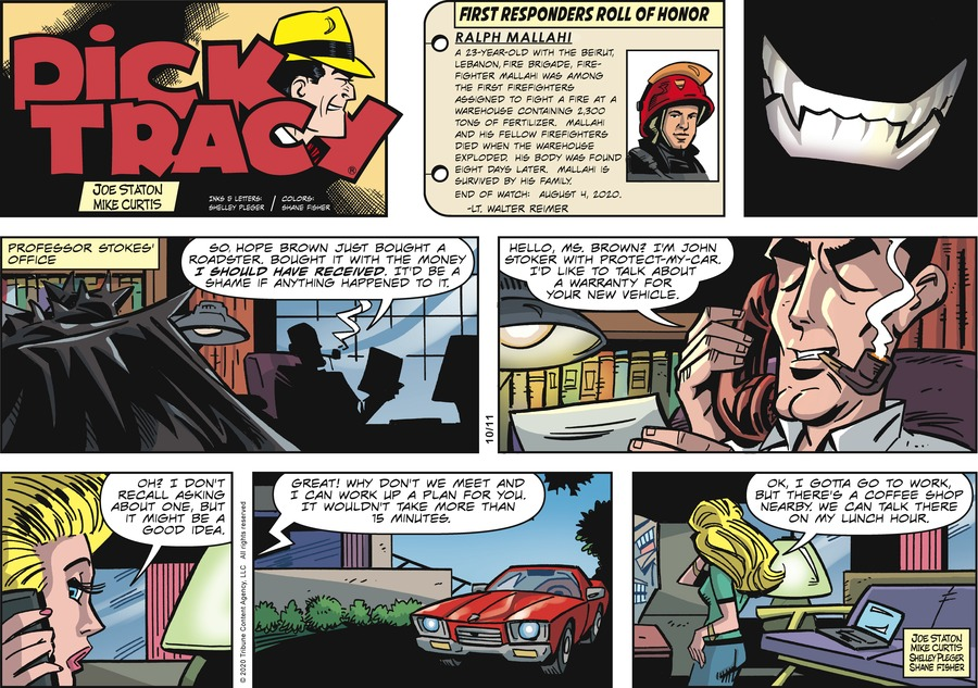 Dick Tracy by Joe Staton and Mike Curtis on Sun, 11 Oct 2020