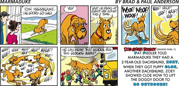 Marmaduke on Sunday May 21, 2017 Comic Strip
