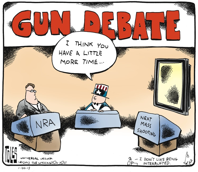 Tom Toles Comic Strip for January 20, 2013
