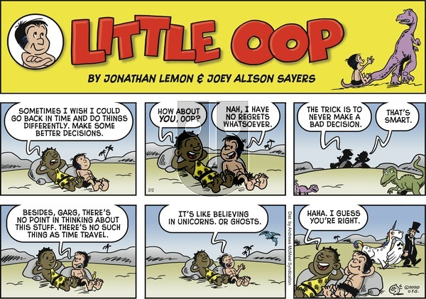 Alley Oop - Sunday February 2, 2020 Comic Strip