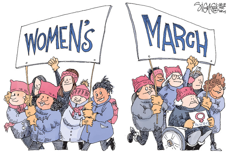 Signe Wilkinson Comic Strip for January 18, 2019
