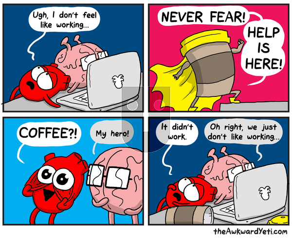 The Awkward Yeti on Monday August 5, 2019 Comic Strip
