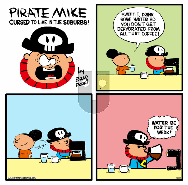 Pirate Mike on Wednesday May 27, 2020 Comic Strip