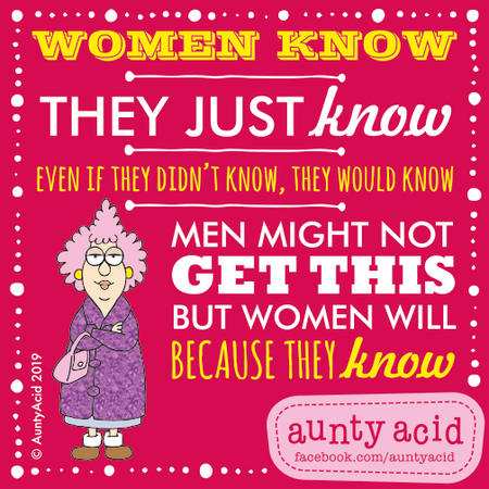 Aunty Acid Comic Strip for March 13, 2019