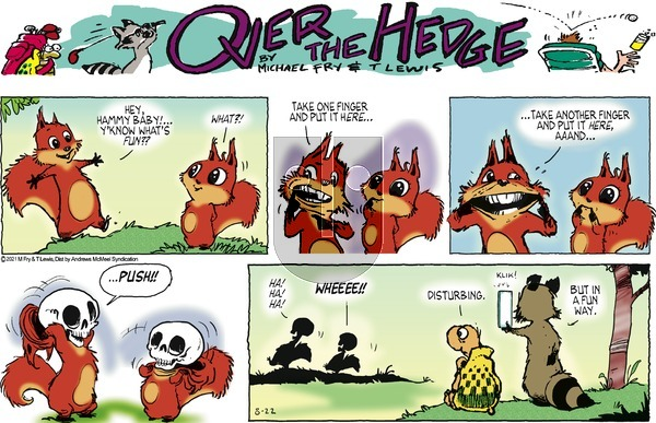 Over the Hedge on Sunday August 22, 2021 Comic Strip