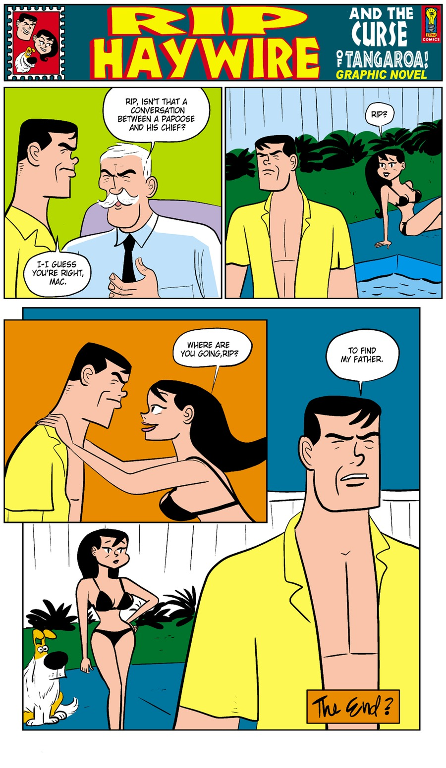 Rip Haywire Comic Strip for March 29, 2015