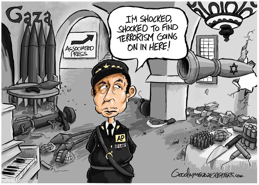 Al Goodwyn Editorial Cartoons Comic Strip for May 17, 2021