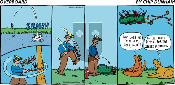 Overboard on Sunday June 9, 2013 Comic Strip