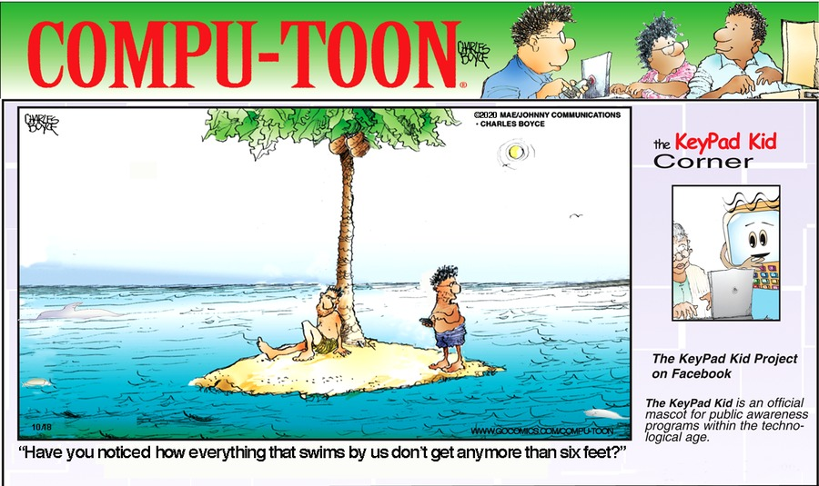 Compu-toon Comic Strip for October 18, 2020