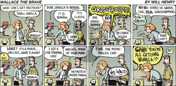 Wallace the Brave on Sunday June 24, 2018 Comic Strip