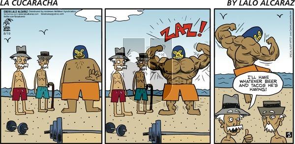 La Cucaracha on Sunday August 19, 2018 Comic Strip