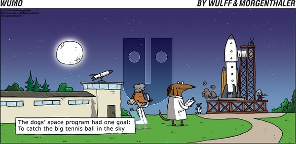 WuMo on Sunday May 5, 2019 Comic Strip