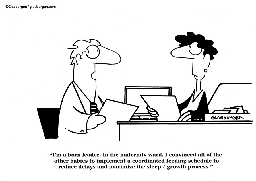 Glasbergen Cartoons by Randy Glasbergen on Sun, 17 Oct 2021