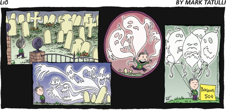 Lio for Aug 24, 2014 Comic Strip
