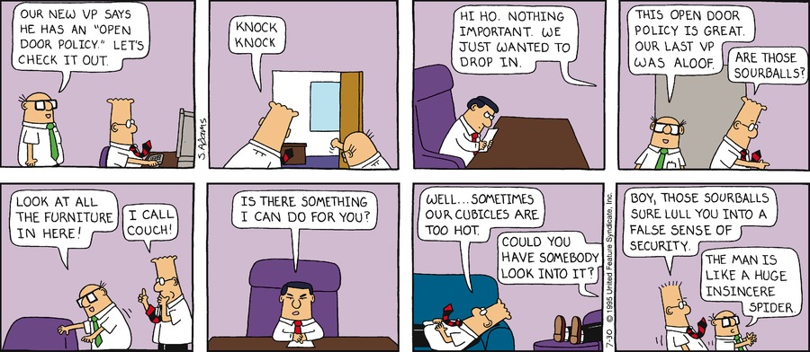 Dilbert Classics by Scott Adams for June 30, 2019