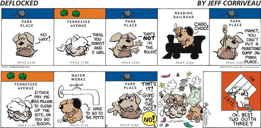 DeFlocked Comic Strip for November 14, 2010
