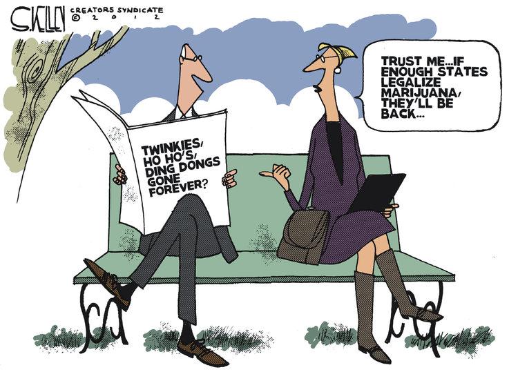 Steve Kelley Comic Strip for November 19, 2012