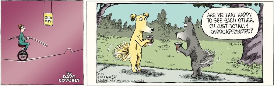 Speed Bump Comic Strip for March 23, 2014