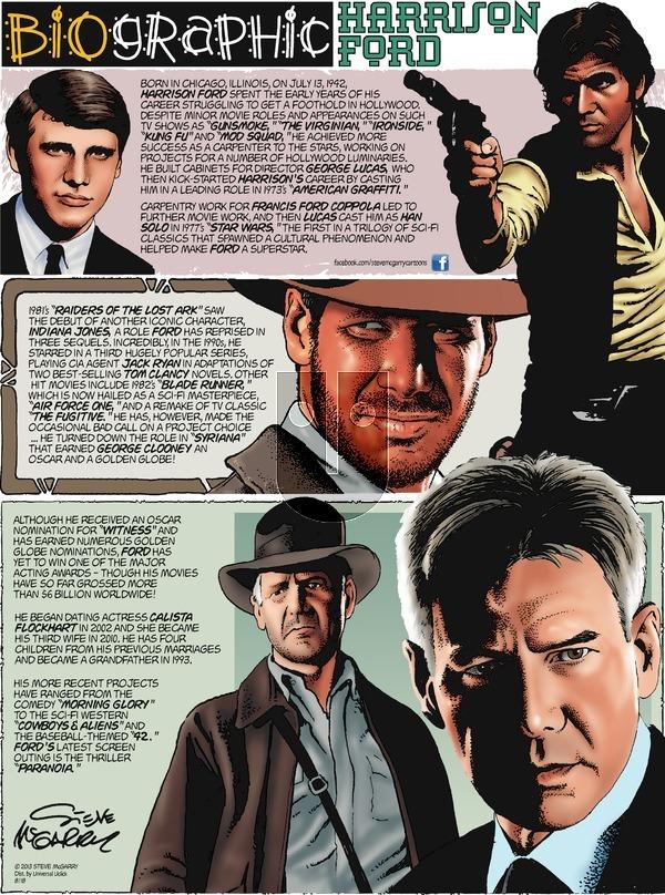 Biographic on Sunday August 18, 2013 Comic Strip