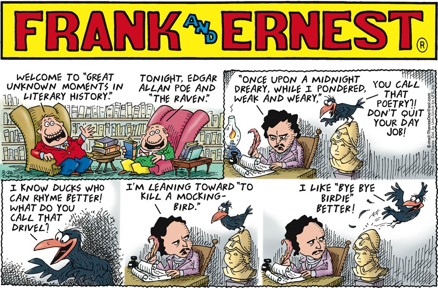 Frank and Ernest Comic Strip for August 26, 2012