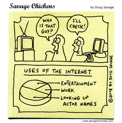 Savage Chickens Comic Strip for October 24, 2014