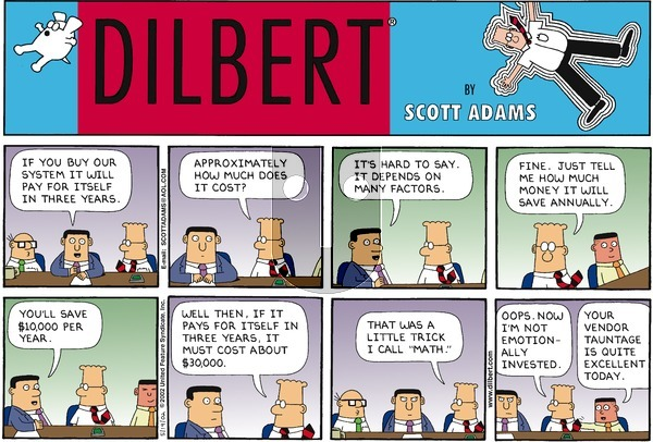 Dilbert - Sunday May 19, 2002 Comic Strip
