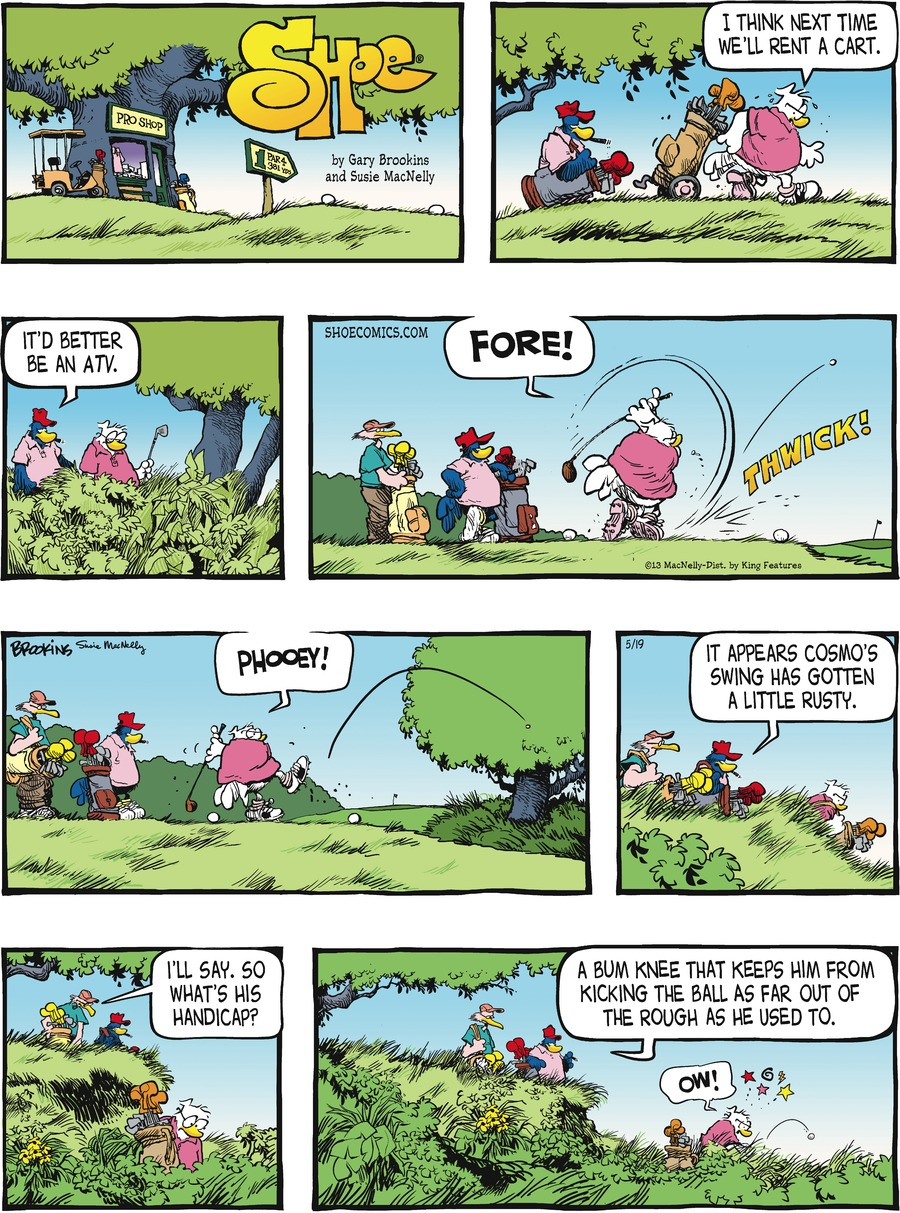 Shoe for May 19, 2013 Comic Strip