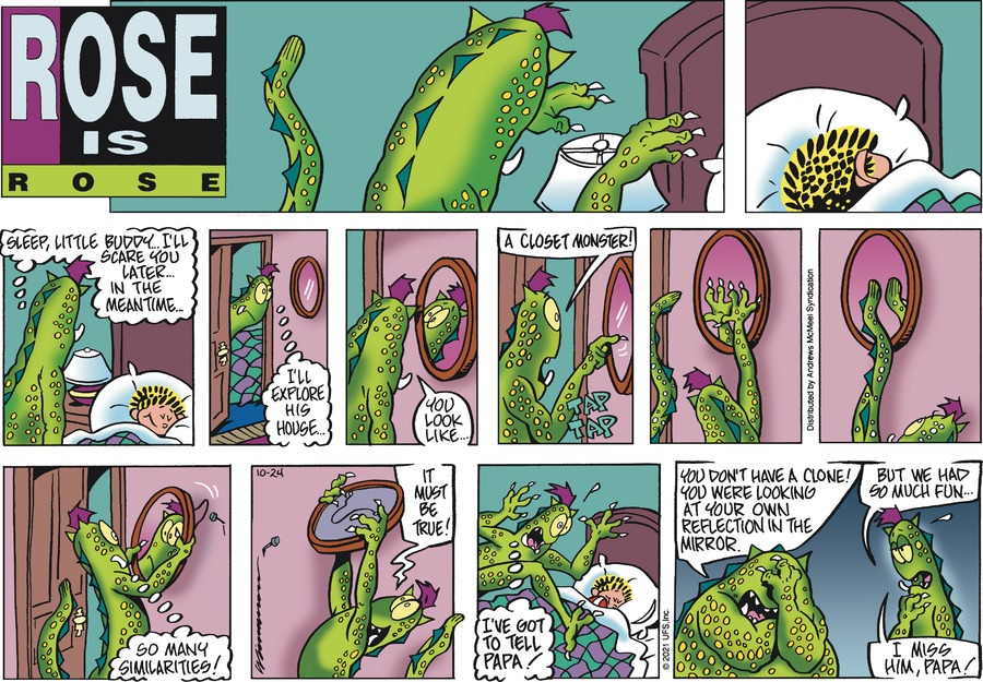 Rose is Rose by Don Wimmer and Pat Brady on Sun, 24 Oct 2021