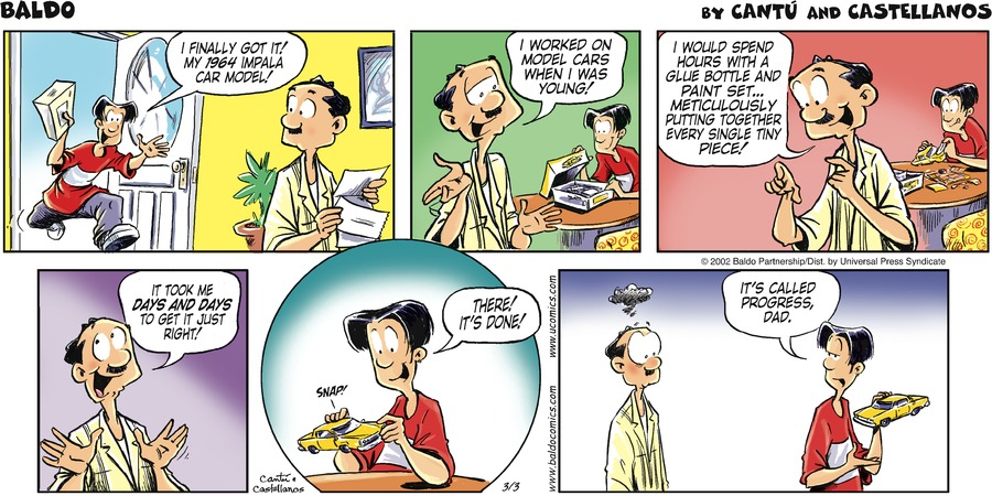 Baldo for Mar 3, 2002 Comic Strip