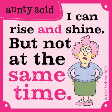 Aunty Acid for Sep 16, 2013 Comic Strip